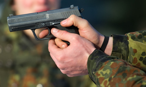 Gun club open day leaves two injured