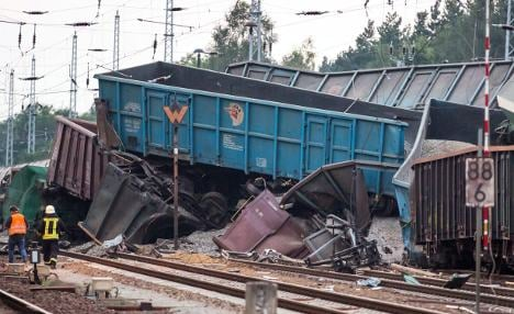 Missing man found in freight train wreck