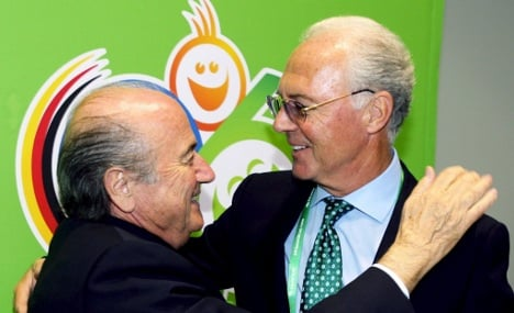 Blatter hints Germany bought 2006 World Cup