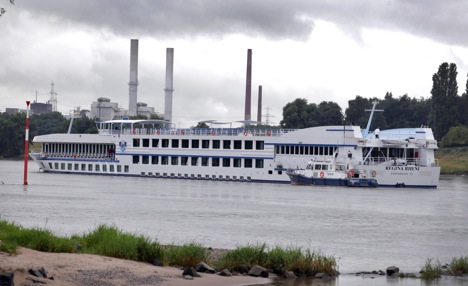 102 Brits rescued from burning riverboat