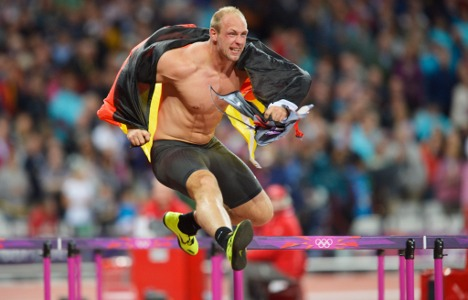 Gold glory for German discus thrower
