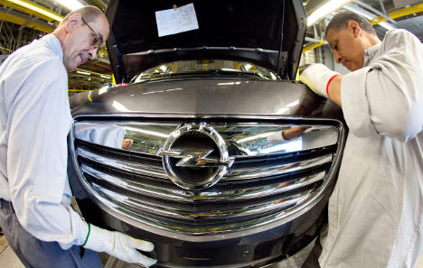 Opel puts cuts shifts to part-time