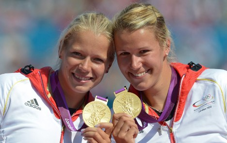 Double double gold for German kayakers