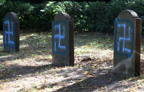 Jewish graves vandalized in northern Germany
