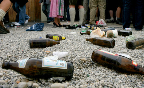 Bring back your empties, Munich brewers beg