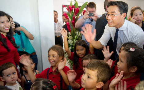 Vice-chancellor fights for Vietnamese orphanage