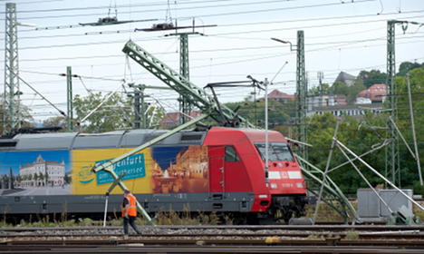 Stuttgart station partly reopens after accident