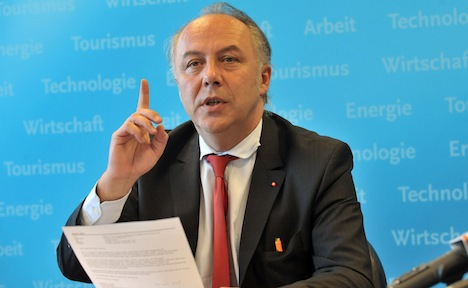 Minister: former East Germany needs a trillion