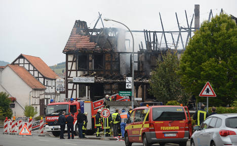 Four feared dead among house fire wreckage
