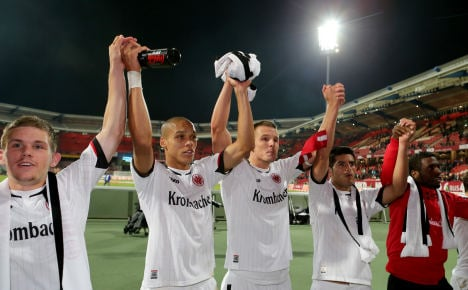 Frankfurt bounce into history with four wins