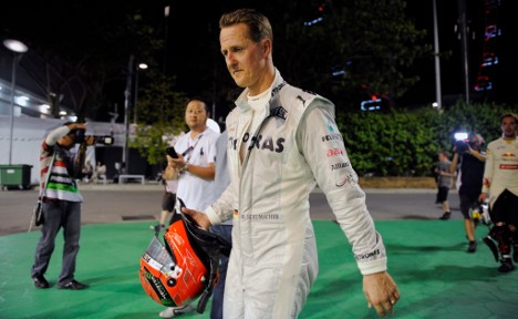Schumacher under fire for poor track record