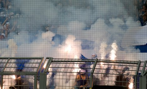 Police call for action after Dortmund football riots