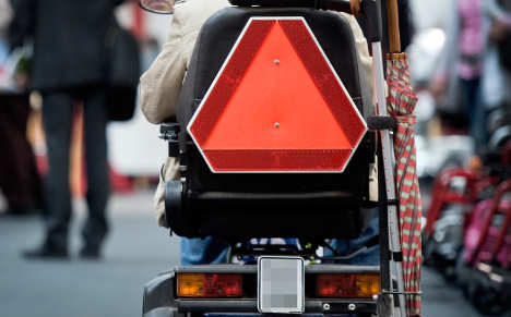 Drunk pensioner caught after wheelchair chase