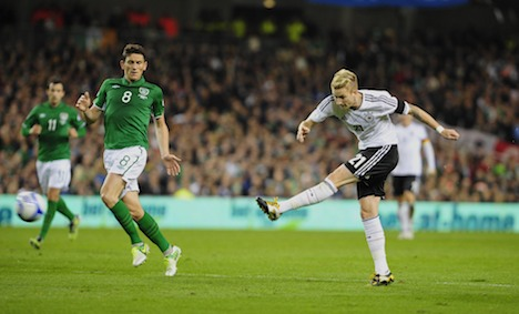 Germany hands Ireland crushing home defeat