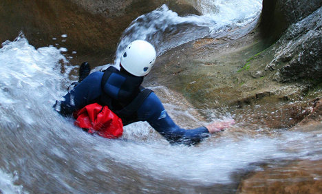 Woman, 23, killed in canyoning accident