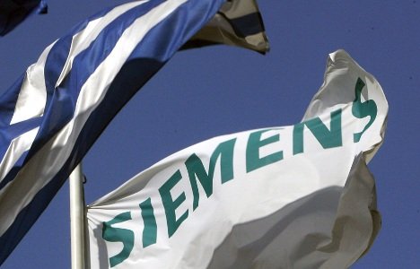 Greece chases 'corrupt' Siemens executives