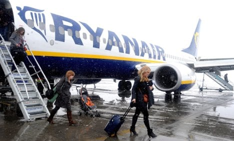 Ryanair to expand in Germany
