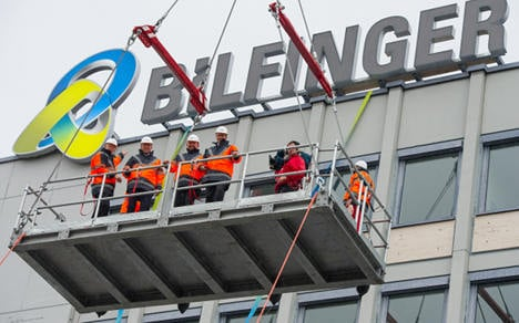 Construction firm banned from Switzerland