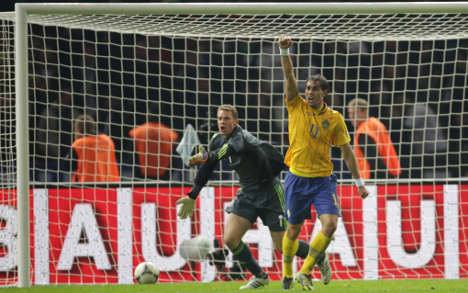 Germany wastes huge lead to draw Sweden 4-4