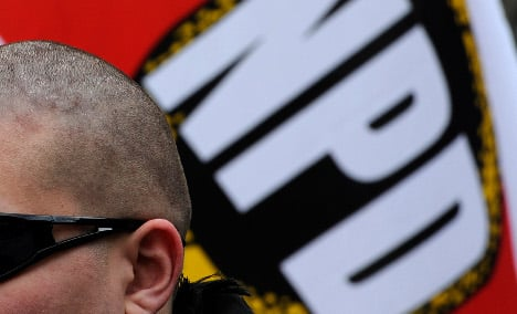 Neo-Nazi ban compared to persecution of Jews