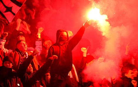 Dresden kicked out of German Cup after rioting