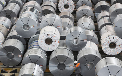 Industrial orders jump on foreign demand