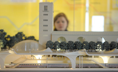 Stuttgart 21 rail project to cost extra €1.1 bln
