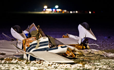 Eight die as two small planes collide in Hesse