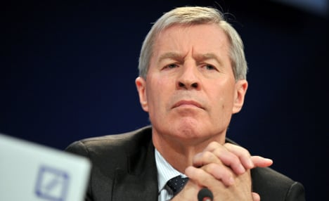 Deutsche Bank co-CEO denies tax fraud charges