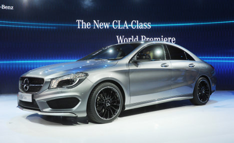 Staid Mercedes targets youth with small coupe