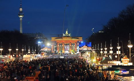 More than a million ring in New Year's in Berlin