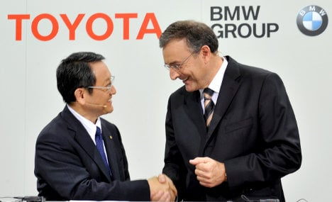 BMW expands greentech cooperation with Toyota