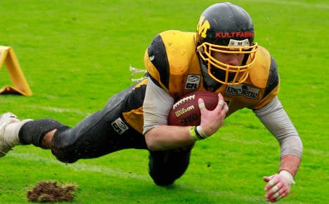 American football touches down in Germany