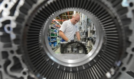 Record number of Germans working