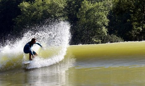 Surfers want to make waves in Berlin