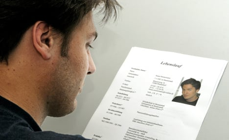 'A CV will get thrown out if not in German style'