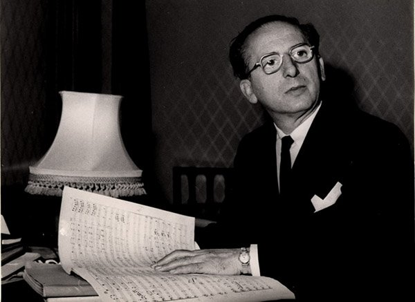 Franz Waxman – Best Original Score<br>Born in 1906 in what was Prussia and a former student of the Dresden Music Academy, Waxman took home the Oscar for Best Original Score for both Sunset Boulevard in 1950 and A Place In The Sun in 1951. A big name in Hollywood, he wrote scores for dozens of well-known films after moving to the US. Photo: www.frankwaxman.com