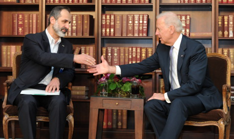 Syrian opposition meets Russian, US leaders