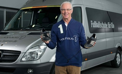 Beckenbauer wants stinky boots for Brazil