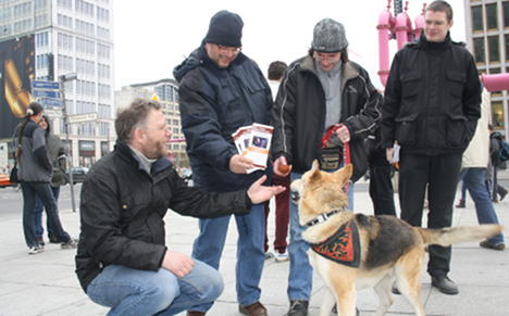 Zoophiles protest against German bestiality ban
