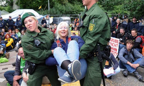 Study: Older, educated Germans fill protests