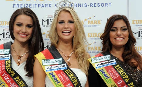 Hannover blonde crowned Miss Germany