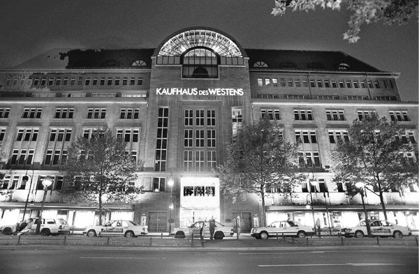 """KaDeWe<br>Then: In """"Where are we now"""", Bowie also name-checks the city's premier department store Kaufhaus des Westens, or KaDeWe, in his new song. It was the only place to find some the world's luxuries in West Berlin during the Cold War. Photo: DPA"""