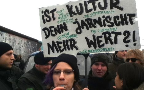 'All Berliners should be standing here today'