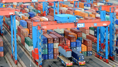 German trade increases more than expected