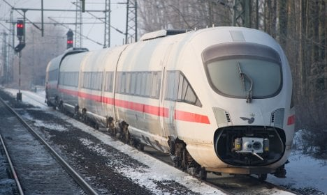 Drunk hitches ride on high-speed ICE train
