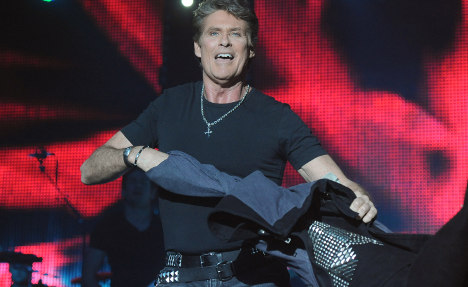 David Hasselhoff to rock Berlin Wall protests