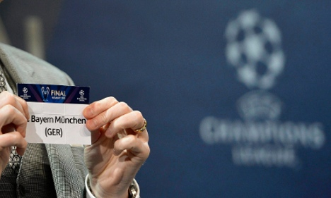 Bayern and BVB draw easy CL quarter-final ties