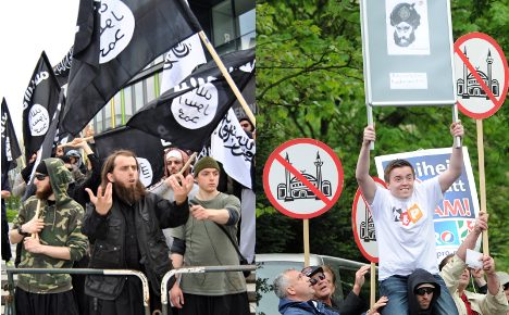 'Extremism in Germany is still safely on sidelines'