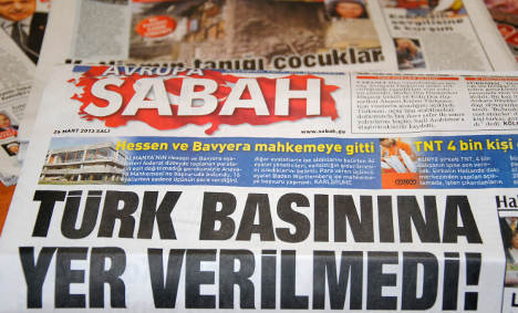 Turkish paper appeals to top court over trial